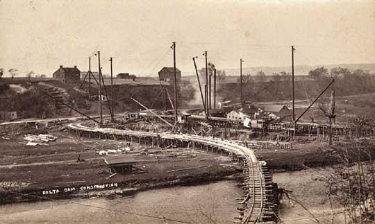 delta dam construction