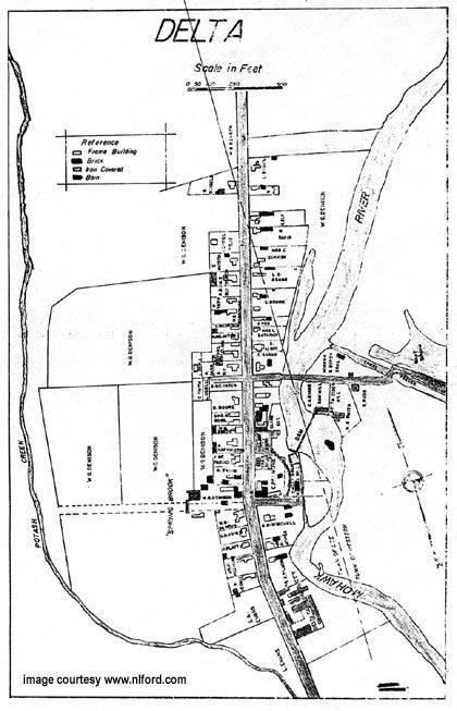 delta village map